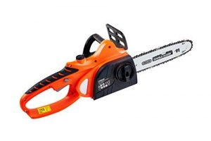 "eSkde Cordless Chainsaw Heavy Duty 18v Lithium Battery 10"" Oregon Bar and Chain"