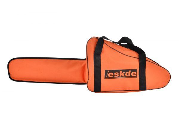 """Petrol Chainsaw 58cc 3.4HP 20"""" Bar 2 Chains Bag Cover Accessories eSkde CS58-S7"""
