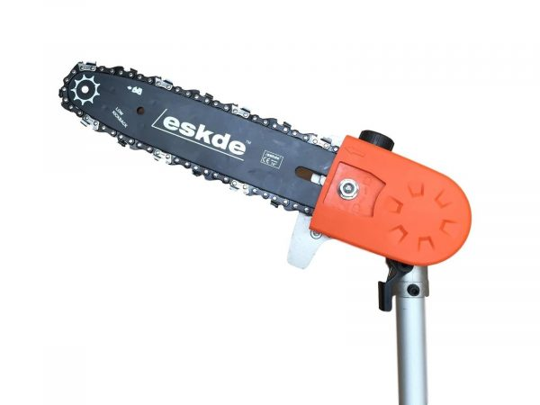 "eSkde Articulated Multi Angle Chainsaw Pruner Attachment 26mm Tube 10"" Blade"