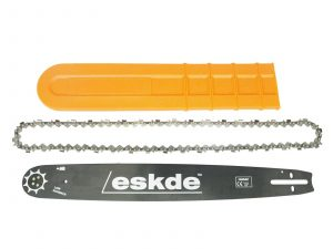 "eSkde Replacement 20"" Chainsaw Guide bar and Chain Set 76 link 0.325"" 0.058"""