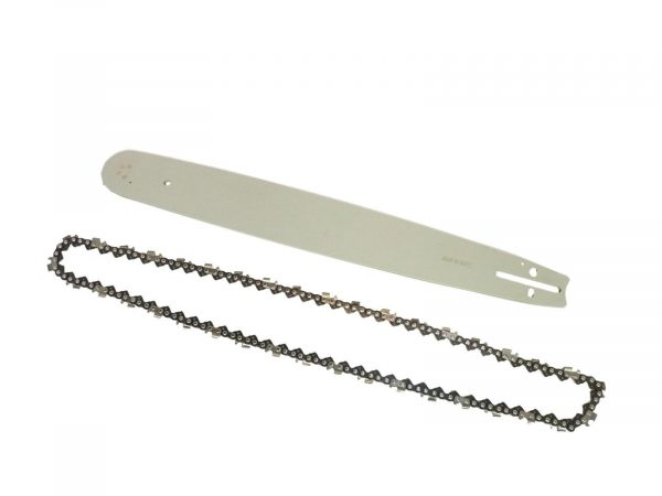 """eSkde Replacement 20"""" Chainsaw Guide Bar and Chain Set 76 Link 0.325"""" 0.058"""""""