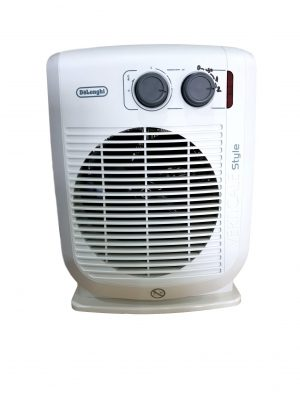 Delonghi HVF3533 Fan Heater Freestanding Upright 2.2KW 2 Settings