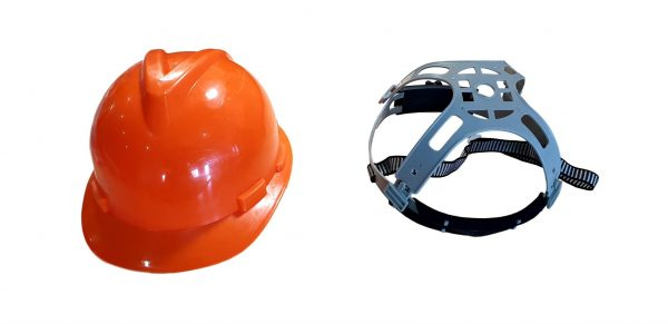 Safety Helmet Hard Hat and Protective Full Face Visor Suit Chainsaw Tree Felling Garden
