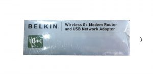 Belkin Wireless G+ Modem Router And USB Network Adapter