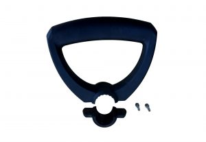 Black Hard Plastic Handle for Gardening Tools Fits 36mm Tube Max
