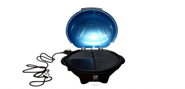 Andrew James Electric BBQ Grill Indoor Outdoor Model BBQ-801 Blue