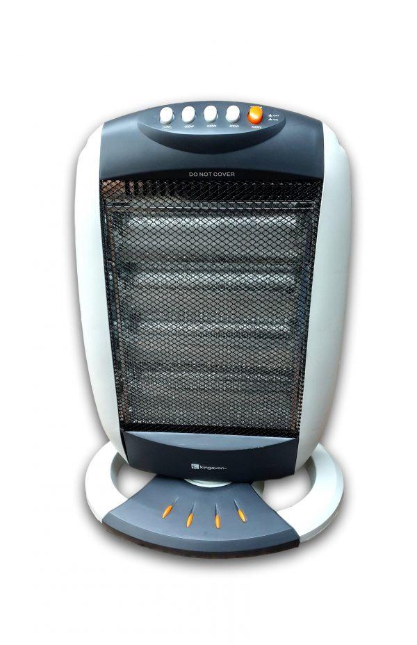 Kingavon 1600 Watt Halogen Oscillating Heater