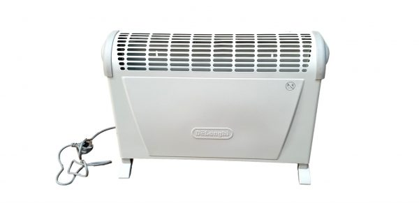 Electric Delonghi HS20-2 Convection Heater 2000 W Free Standing Or Wall Mountable