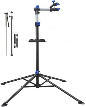 bike repair stand with telescopic arm